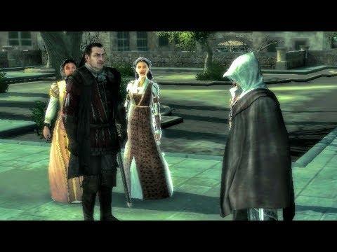 Uncle Mario Shows Ezio, Claudia and Maria a Monteriggioni, Their New Home (Assassin