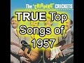 The TRUE Top 50 Songs of 1957 - Best Of List