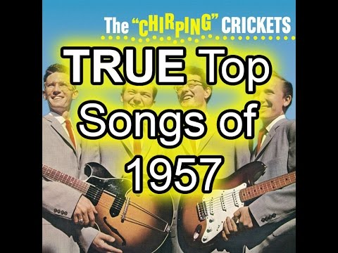 The TRUE Top 50 Songs of 1957  Best Of List