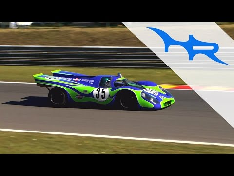 Porsche 917K (917-021) Psychedelic (Acceleration & Fast Flyby & Revving)