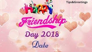 Friendship Day Date 2020 | International Friendship Day 2018 Date | Happy Friendship Day 2020