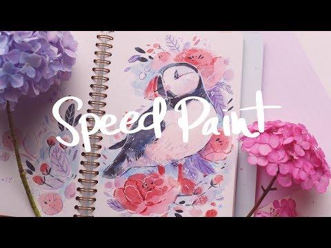 Pooflin Speed Paint