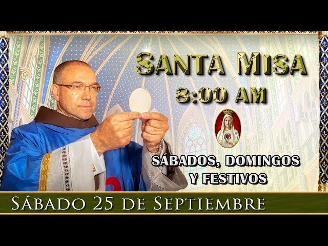 ⛪Santa Misa ⚜️ Sábado 25 de Septiembre 6:30 pm | Caballeros de la Virgen