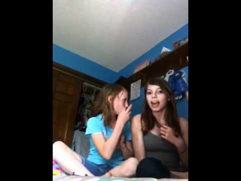 Ashley Dean singing the climb with Emily Oiler