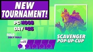 New Tournament | PC Noob Day #25 | Fortnite Live Stream