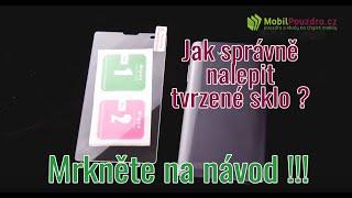 Tvrzené sklo na displej mobilního telefonu - návod na instalaci + test odolnosti - MobilPouzdra.cz