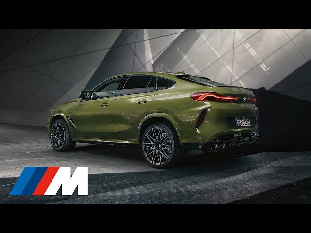 The All New Bmw X6 M Competition Official Launch Film F96 2020 Youtube