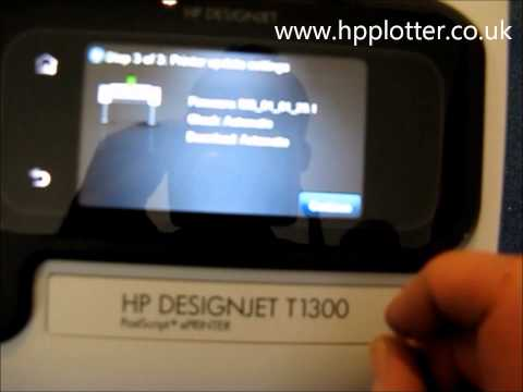 HP Designjet T1300 Printer - Buy, Setup and Configure