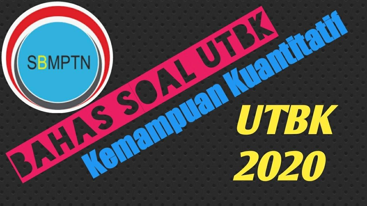 Soal TPS Kuantitatif UTBK   Part 1 - YouTube