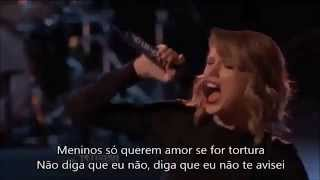 Taylor Swift- Blank Space legendado (Tradução) The Voice