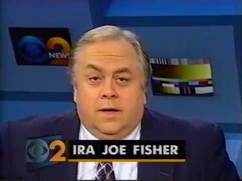 WCBS NY NEWS-1/8/96-Michele Marsh, John Johnson