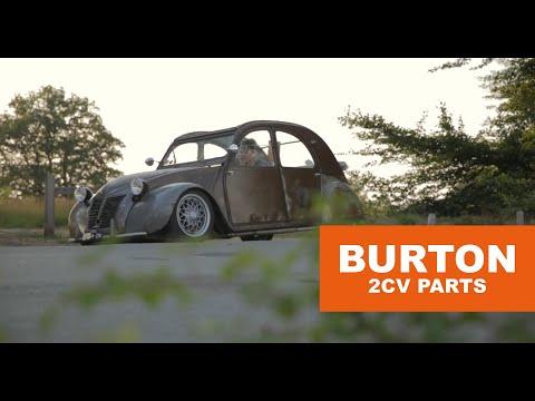 'Made to be driven, 1956 Citroën 2CV AZ ' - Burton Car Company (subtitled)