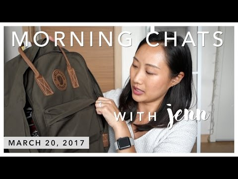 Morning Chats | 3.20.2017 (What I Packed for the Philippines + Beauty Heroes)