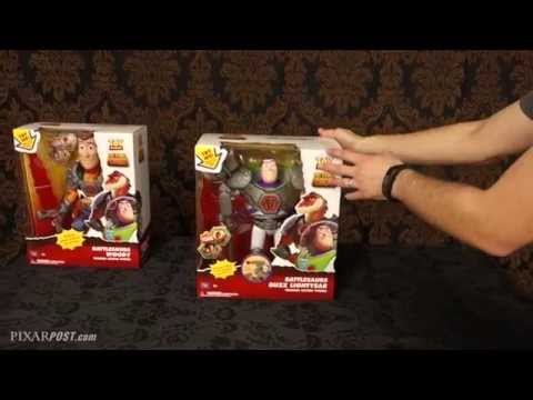 """""""Toy Story That Time Forgot"""" Thinkway Toys, Battlesaurs Woody & Buzz Toy Review"""