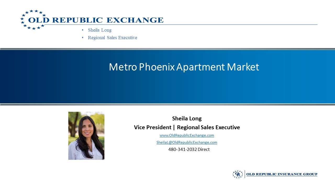 What's Driving Our Amazing Metro Phoenix Apartment Market