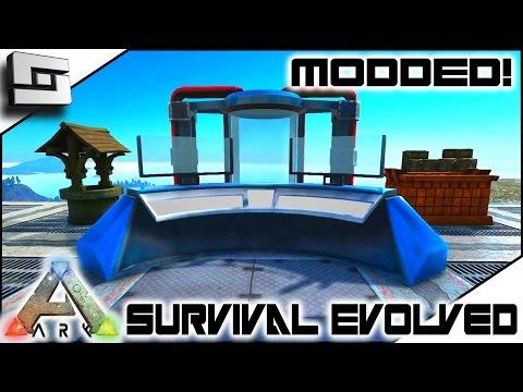 MODDED ARK: Survival Evolved - ARK FUTURISM - MOLECULAR PRINTER! E7 ( Gameplay )
