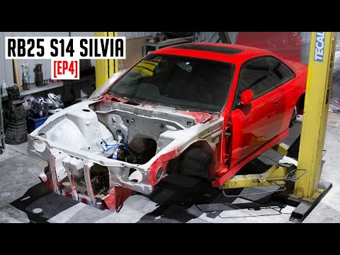 ENGINE BAY SHAVE | RB25 S14 Silvia [EP4]