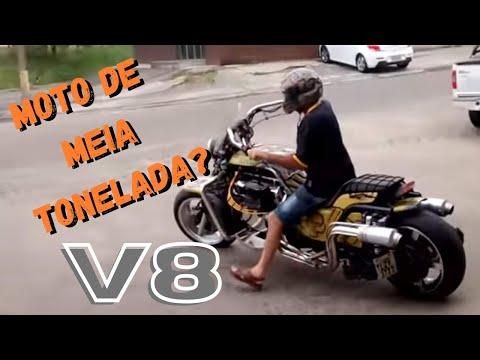 Moto com motor de Landau, V8