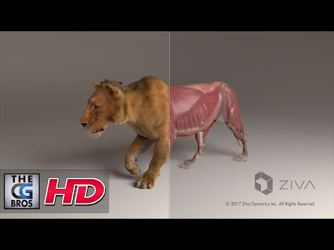 "CGI & VFX Tech Demos:  ""Zeke The Lion""  - by ZIVA VFX"