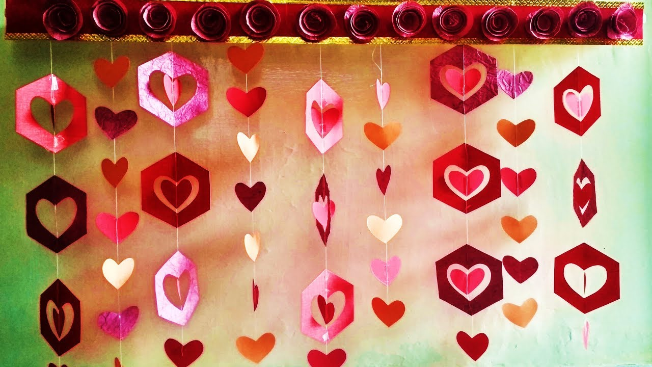 Valentine S Day Decoration Ideas L Anniversary Party Decoration Ideas At Home Youtube