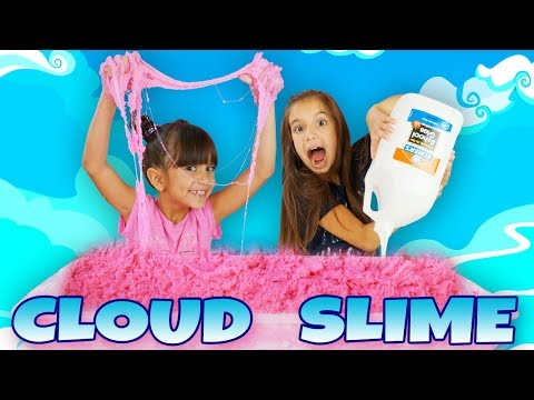 1 GALLON OF GIANT CLOUD SLIME! Most Satisfying Slime