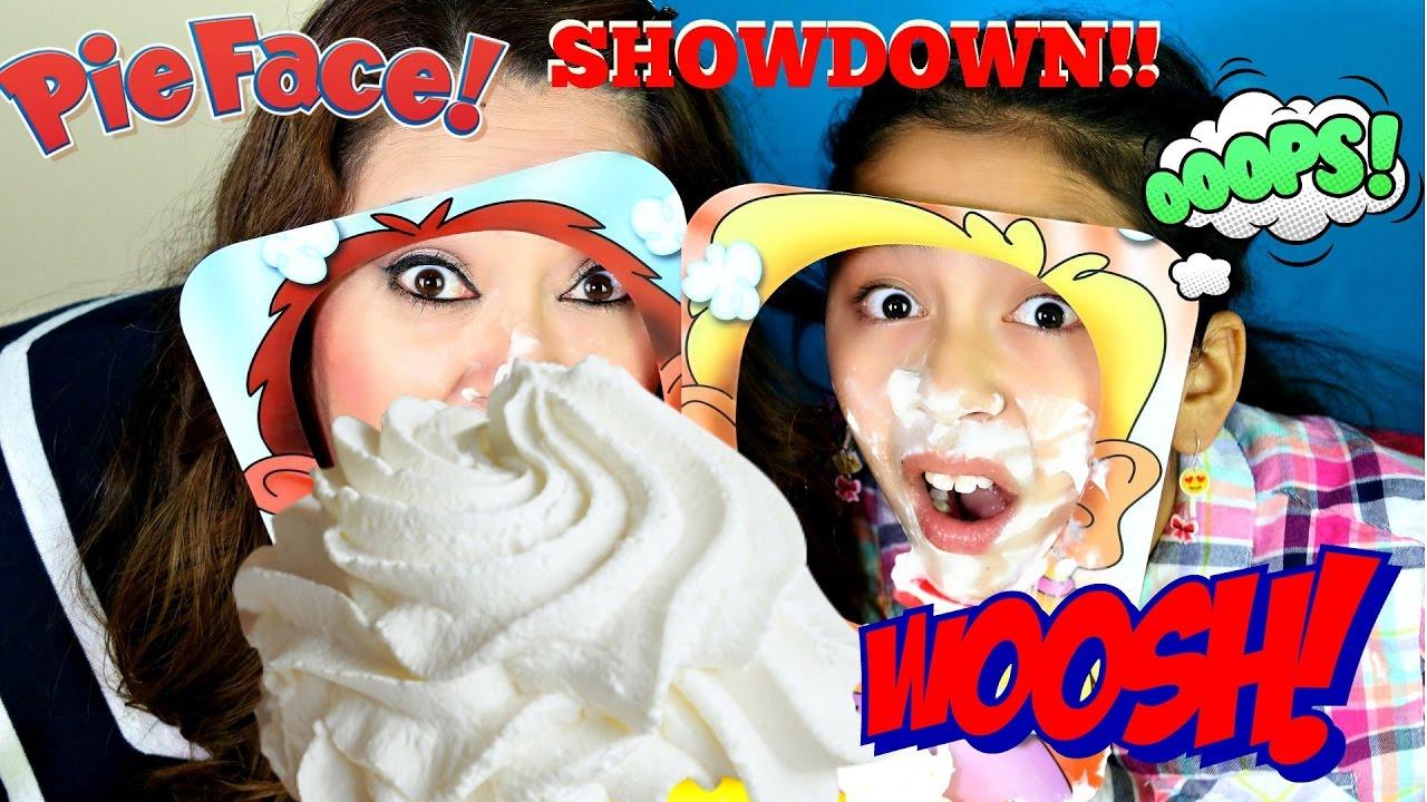 Pie face showdown new challenge lol b2cutecupcakes youtube solutioingenieria Choice Image