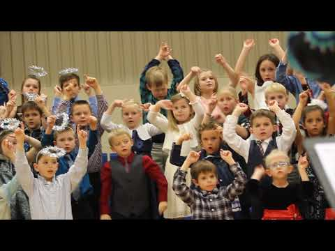 St Mary Parish Catholic School K-2 Christmas music concert, Derby, KS