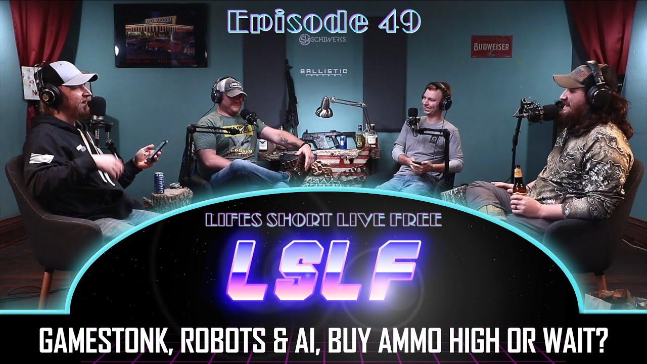 LSLF Podcast #49 - Gamestonk, Drones, Robots & AI, and Employee vs Employer Mindset