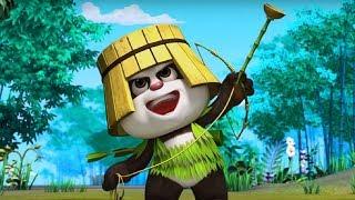 Кротик и Панда -Инопланетянин   - серия 36- развивающий мультфильм для детей