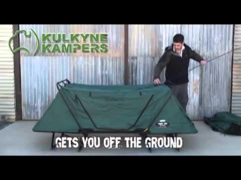 K&rite Oversize Tent Cot & Kamprite Oversize Tent Cot - YouTube