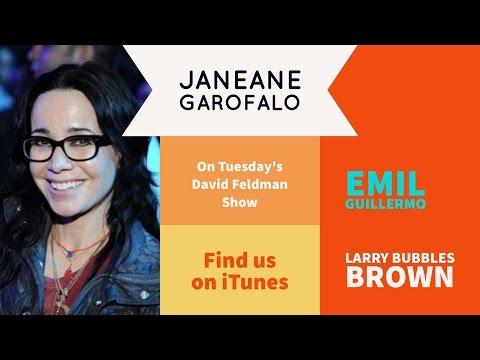 """Janeane Garofalo & Larry """"Bubbles"""" Brown"""