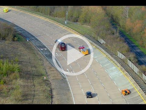 AutoAir 5G test bed for connected and autonomous vehicles