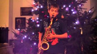 Cole Plays Kiss from a Rose by SEAL, on Alto Saxophone