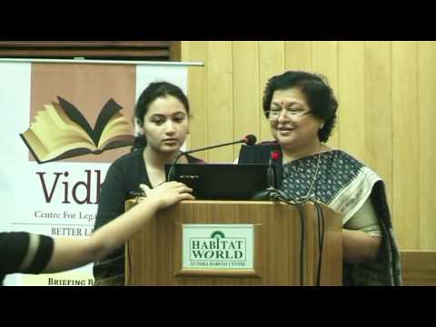Vidhi's Briefing Book Launch Event-Law in Numbers and Panel Discussion