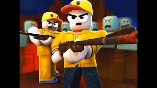 THE MOST INSANE ZOMBIE GAME IN ROBLOX! (Roblox Zombie Project Funny Moments)