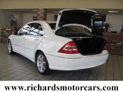 05 used mercedes benz c240 4matic white hartford c t for Mercedes benz hartford