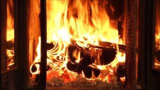 2 HOURS thunder, rain, fireplace - Kaminfeuer Full HD - zum Entspannen