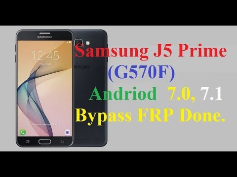 frp lock remove on samsung g570f by GSM SOUTH AFRICA