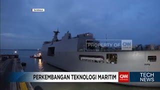Gambar cover Perkembangan Teknologi Maritim di Indonesia
