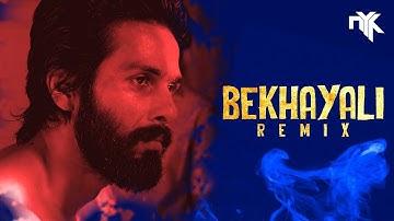 Bekhayali Remix (Kabir Singh)   DJ NYK   Shahid Kapoor   Kiara Advani   Arijit Singh   Sachet Param