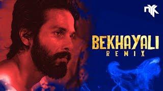 Bekhayali Remix (Kabir Singh) | DJ NYK | Shahid Kapoor | Kiara Advani | Arijit Singh | Sachet Param