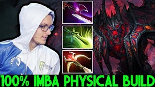 MIRACLE [Shadow Fiend] Crazy Classic Physical Build 100% Imba Hero 7.23 Dota 2