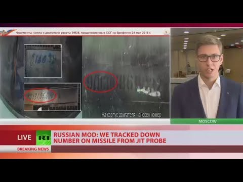 Serial numbers of missile that downed MH17 show it was owned by Ukraine - MoD