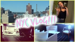 New York City Vlog + ROOM TOUR!!!! Thumbnail