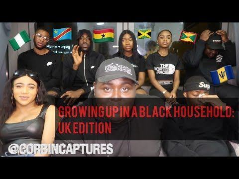 GROWING UP IN BLACK HOUSEHOLD (VERY FUNNY)