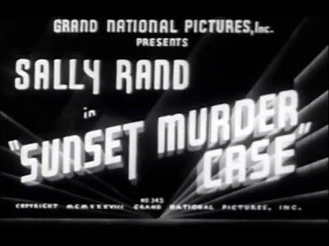 Crime Drama Mystery Movie - Sunset Murder Case (1938)