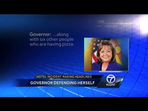 Complaint brings cops to governor's hotel room