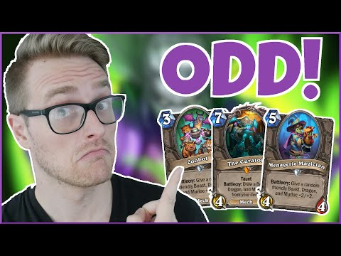 Hearthstone | These Cards Work in Wild Too? | Wild Menagerie Odd Warlock | Saviors of Uldum