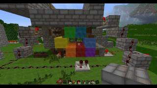 "Minecraft - Rainbow ""screen"""