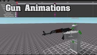 Roblox   How To Animate A Gun (READ DESCRIPTION)